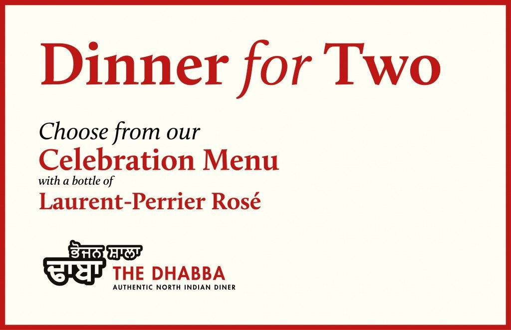 Image for Dinner for 2 with a bottle of Laurent-Perrier Rosé